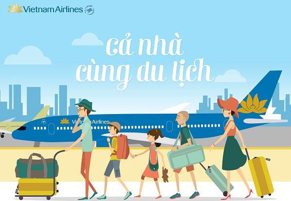 Du lịch thỏa thích cùng vé khuyến mãi Vietnam Airlines