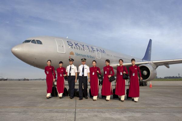 Mua vé máy Vietnam Airlines giá rẻ