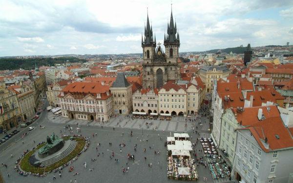 Vé máy bay đi Prague