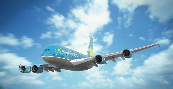 Mua vé máy bay quốc tế Vietnam Airlines