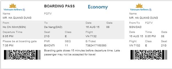 Đặt vé máy bay Vietnam Airlines ở Vinajet