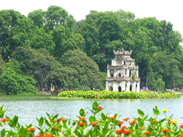 Mua vé máy bay từ Đà Nẵng đi Hà Nội - Hồ Hoàn Kiếm