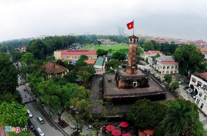 Vé máy bay Vietnam Airlines - Cảnh đẹp Hà Nội