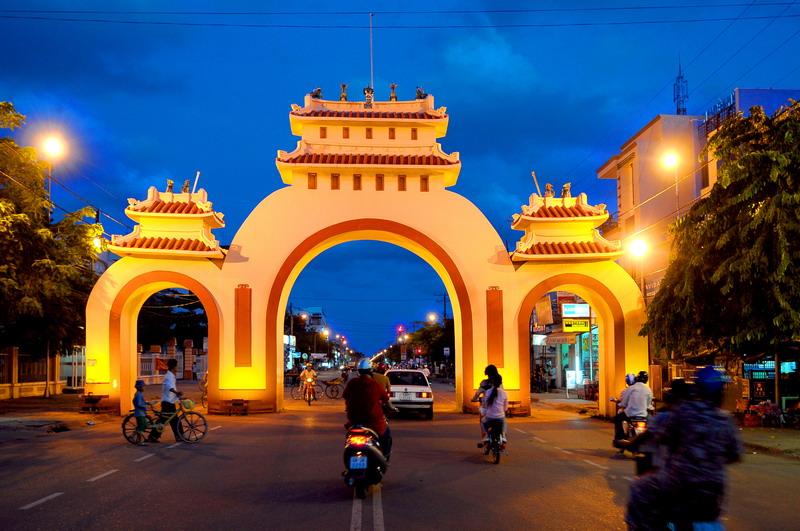 Vé máy bay Vietnam Airlines - Cảnh đẹp Rạch Giá