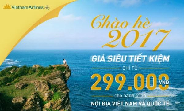 khuyến mãi hoành tráng của Vietnam Airlines