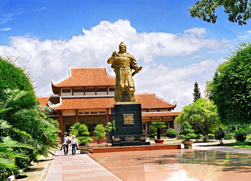 Vé máy bay Vietnam Airlines - Bảo tàng Quang Trung