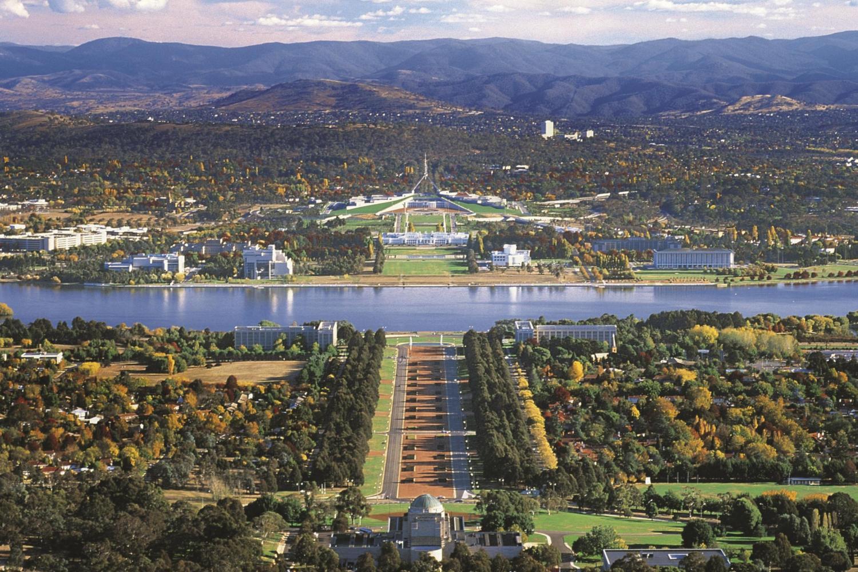 Vé máy bay Vietnam Airlines - Cảnh đẹp Canberra