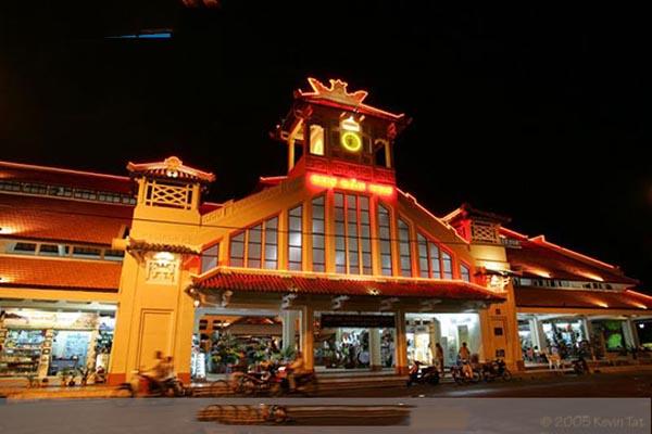 Vé máy bay Vietnam Airlines - Chợ đêm Tây Đô