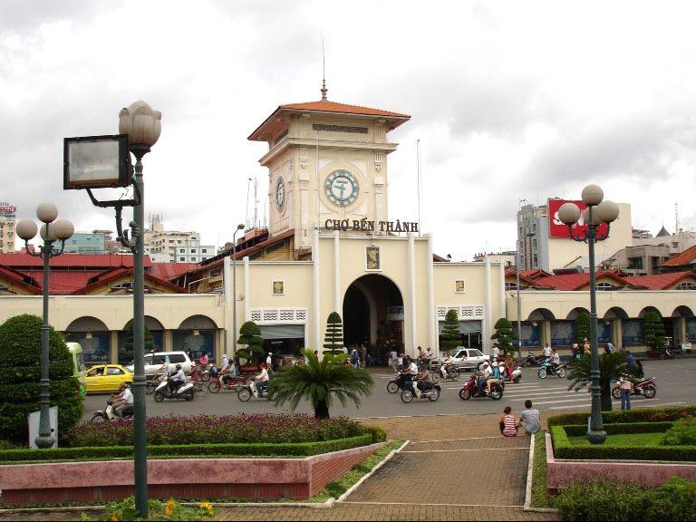Vé máy bay Vietnam Airlines - Chợ Bến Thành