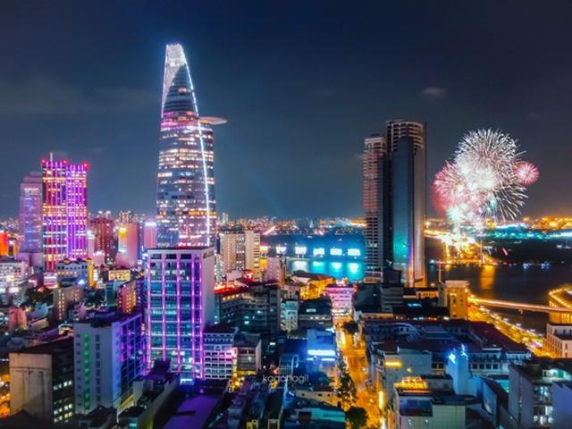Ngắm toàn bộ thành phố Sài Gòn từ trên cao