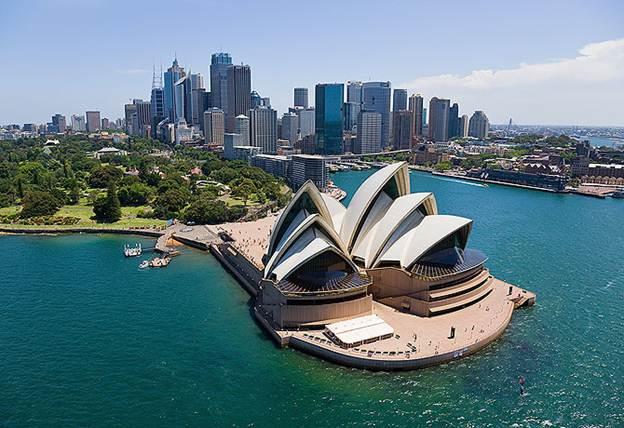 Thông tin giá vé máy bay Vietnam Airlines đi Úc mới nhất