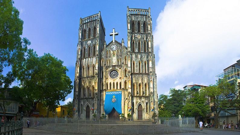 Vé máy bay Vietnam Airlines - Nhà thờ lớn Hà Nội
