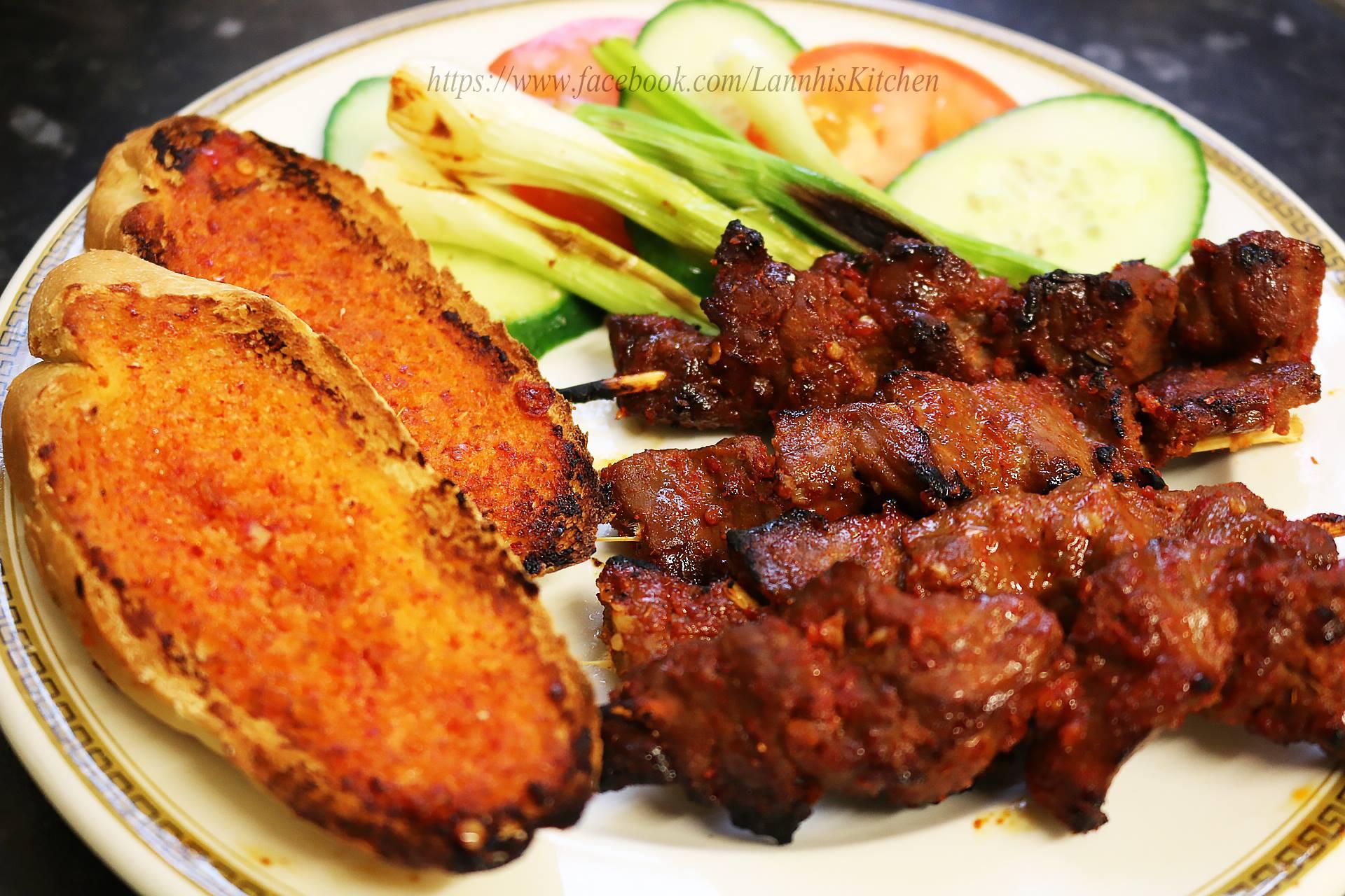 Vé máy bay Vietnam Airlines - Thịt bò nướng Lạc Cảnh