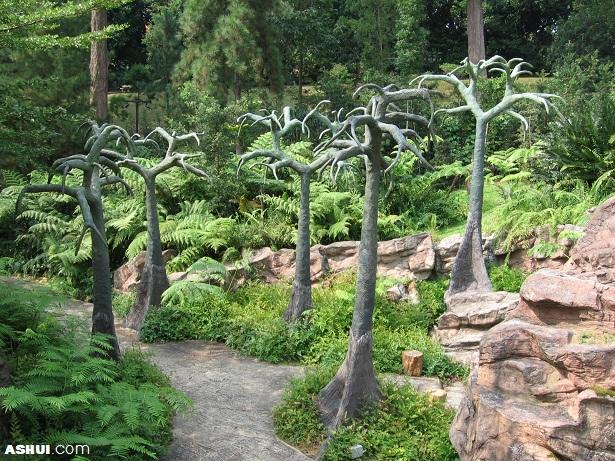 Vé máy bay Vietnam Airlines - Vườn thực vật Royal