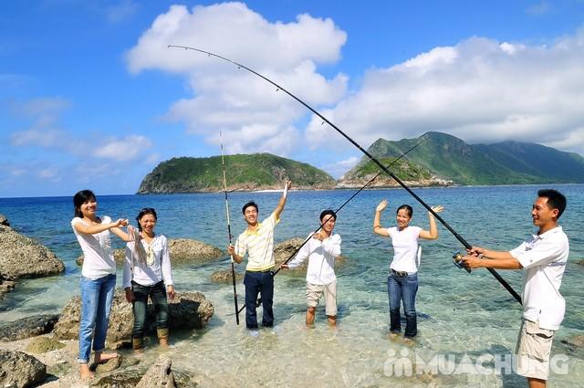 Vé máy bay Vietnam Airlines - Câu cá – khám phá đảo xanh