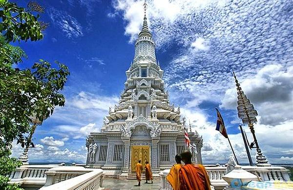 Vé máy bay Vietnam Airlines - Điểm du lịch Campuchia