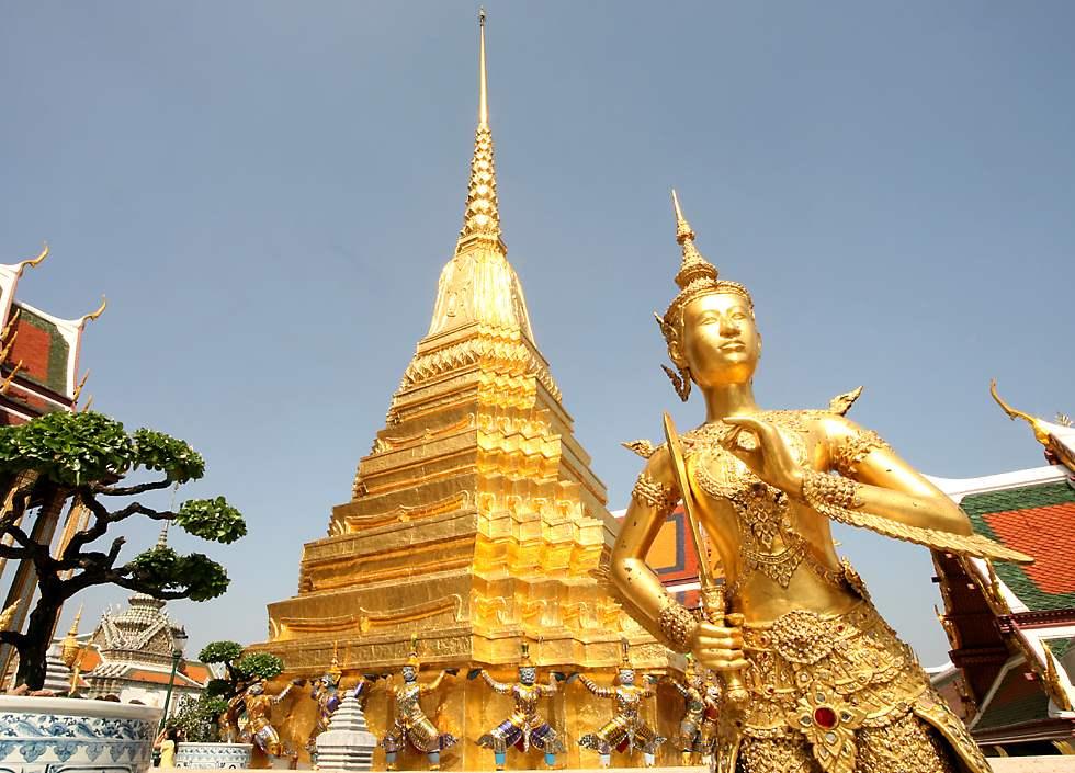 Vé máy bay Vietnam Airlines - Chùa Wat Phra Kaew