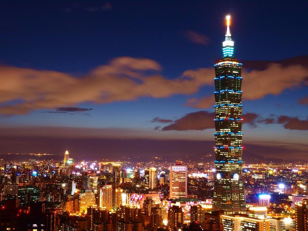 Vé máy bay Vietnam Airlines - Tháp Taipei 101