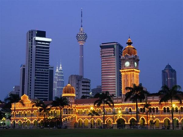 Vé máy bay Vietnam Airlines - Tham quan tháp truyền hình Kuala Lumpur