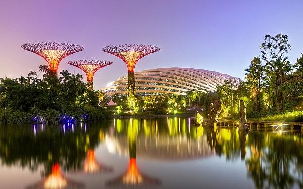 Tham quan thiên nhiên tại 2 khu vườn lớn của Singapore