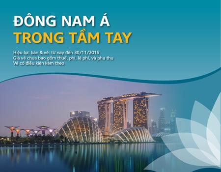 Ngao du cảnh đẹp Đông Nam Á thật dễ dàng cùng Vietnam Airlines