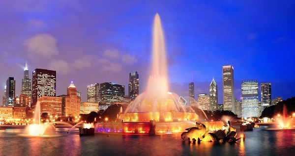 Vẻ đẹp của thành phố Chicago