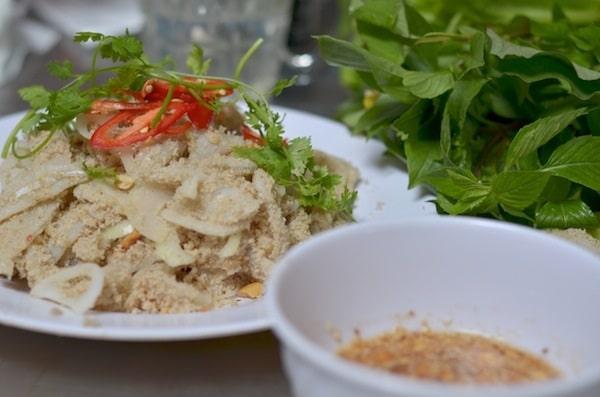 Vé máy bay đi Sài Gòn - Gỏi cá mai Bà Rịa – Vũng Tàu