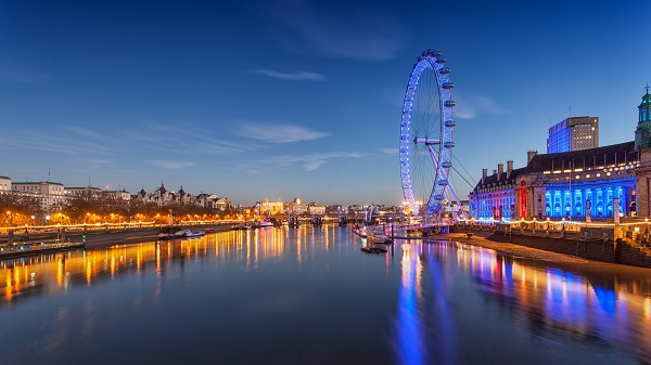 London Eye, sông Thames