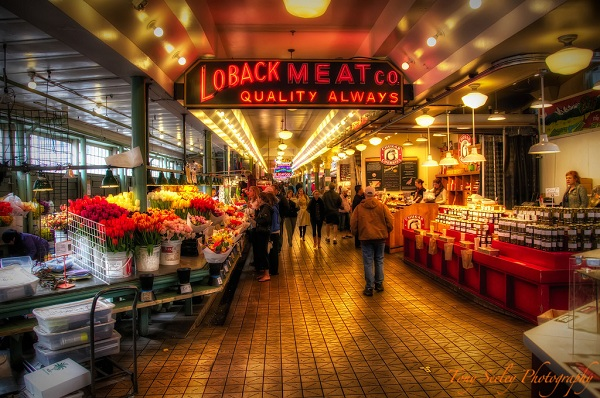 Pike Place Farmers Market, Seattle, Washington