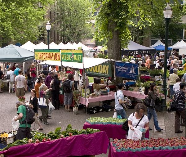 Portland Farmers Market, Portland, Oregon