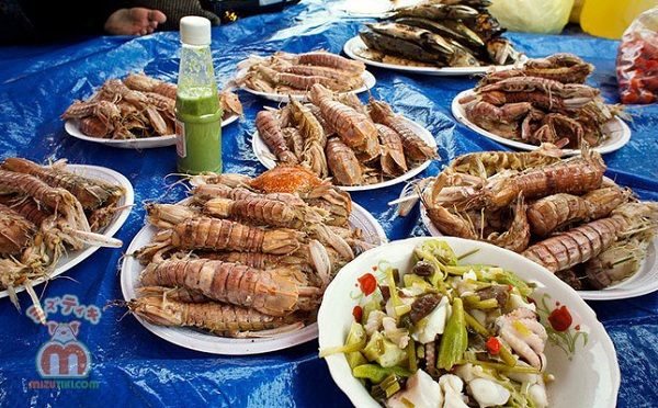 Ăn hải sản thả ga tại Hòn Sơn