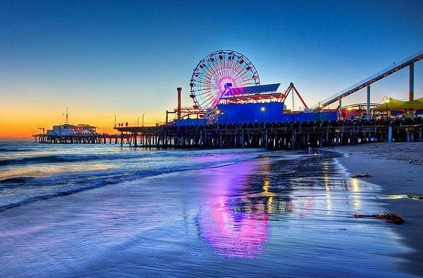 công viên giải trí Santa Monica Pier