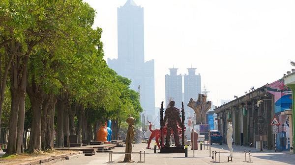 công viên nghệ thuật Pier-2
