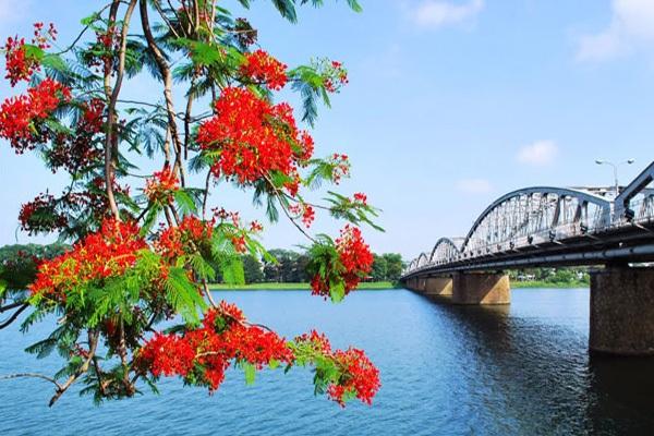 Ngắm nhìn vẻ đẹp hiền hòa dịu dàng của dòng sông Hương