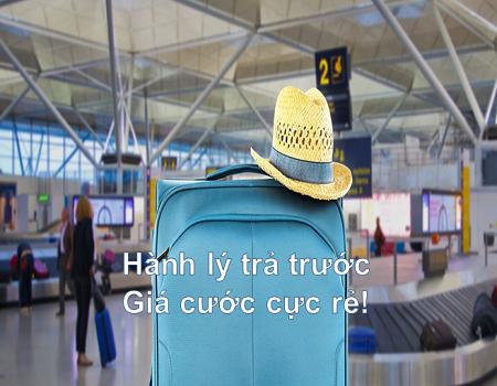 Cước hành lý cực rẻ của Vietnam Airlines