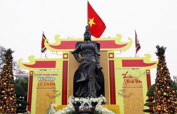 Vé máy bay đi Hải Phòng - Đền thờ nữ tướng Lê Chân