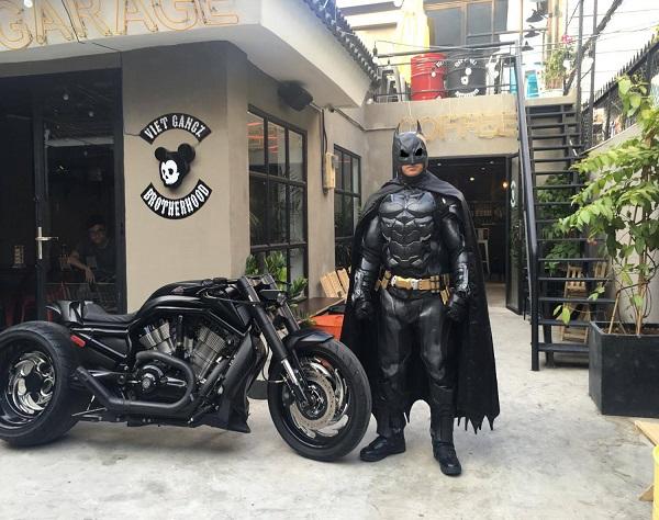 Vé máy bay đi Sài Gòn - VietGangz Brotherhood Cafe