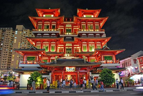 Chinatown đầy màu sắc