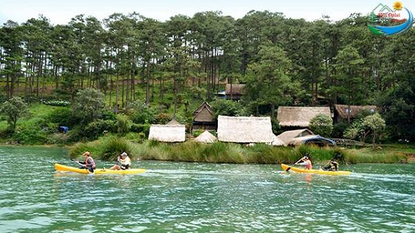 Vé máy bay đi Đà Lạt - Edensee Lake Resort & Spa Đà Lạt