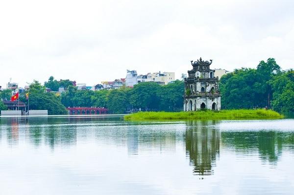 Vé máy bay đi Hà Nội - Tham quan Hồ Gươm Hà Nội