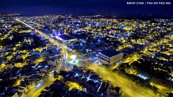 Khám phá thành phố Buôn Ma Thuột về đêm