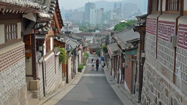 Khu phố Samcheong-dong