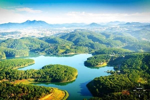 Vé máy bay đi Đà Lạt - Tầm nhìn tuyệt đẹp từ núi Phượng Hoàng