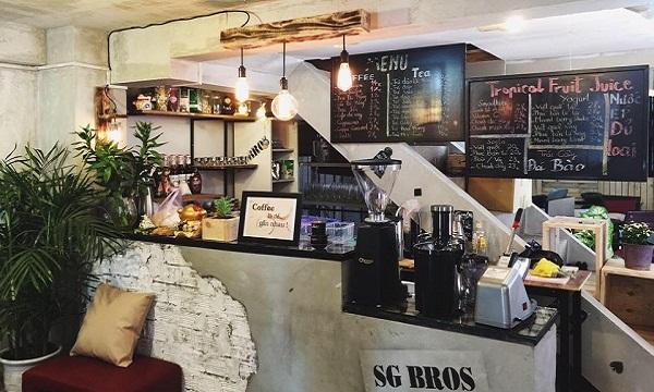 Vé máy bay đi Đà Nẵng - Hấp dẫn với quán cafe SG Bros