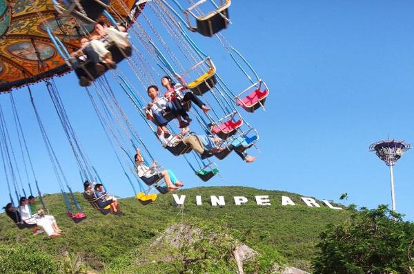 Vé máy bay đi Nha Trang - Vi Vu ở Vinpearl Land