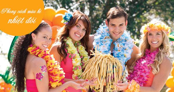 """Tham gia đại tiệc đúng kiểu Hawaii """"luaus"""""""