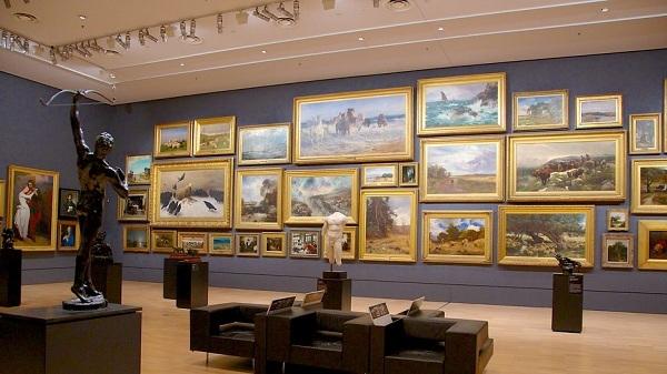Thăm triển lãm quốc gia National Gallery of Victoria