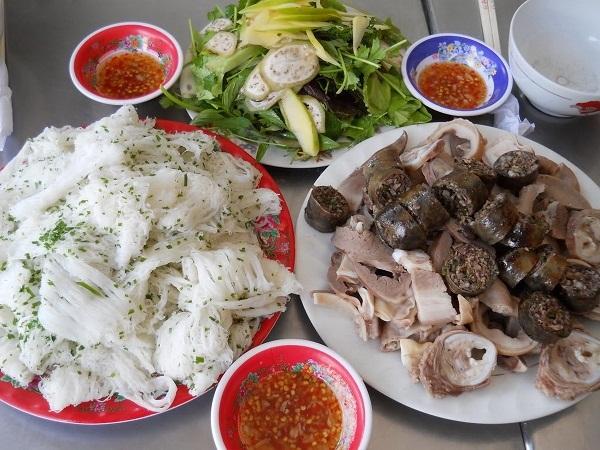 Vé máy bay đi Quy Nhơn - Bánh hỏi Diêu Trì