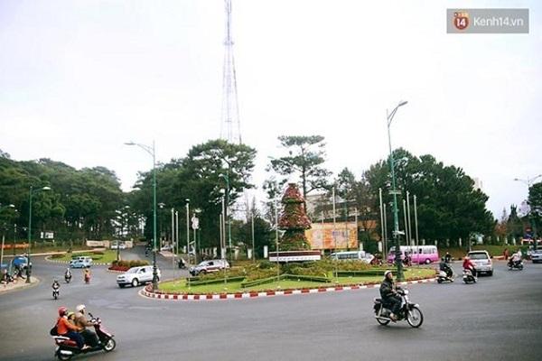 Cùng vé máy bay đi Đà Lạt nơi chẳng có đèn giao thông