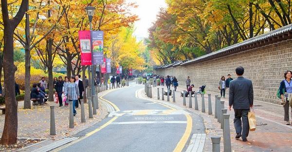 5 điểm chụp ảnh đẹp nhất tại thủ đô Seoul